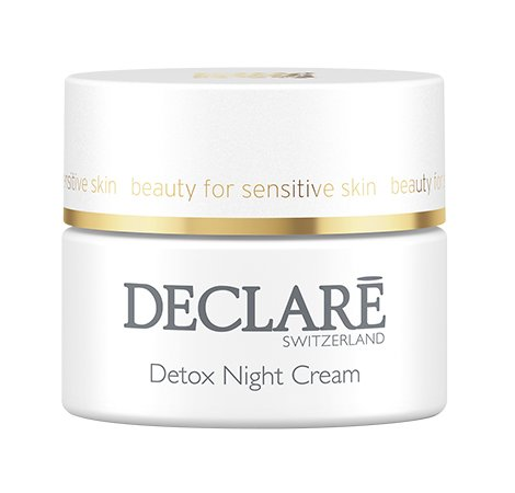 Detox Night Cream met Declaré oogmasker