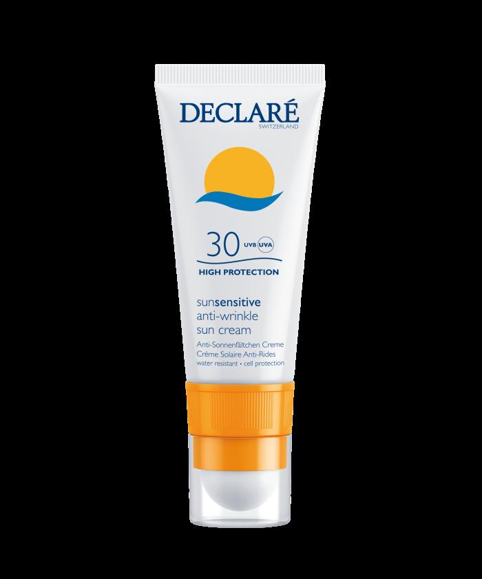 Declare zonbescherming voor de gevoelige huid