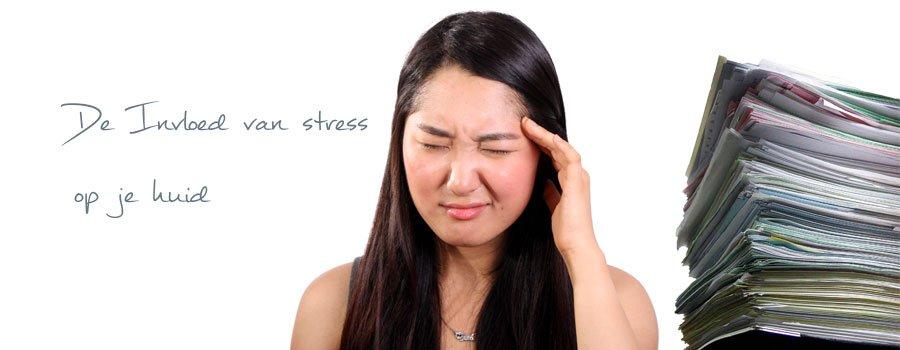 Dit doet stress met je huid!
