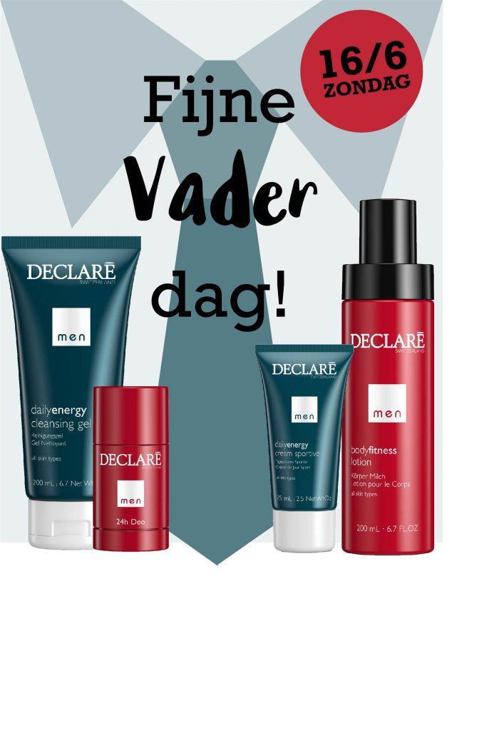 Declare Vaderdag huidverzorging aanbiedingen