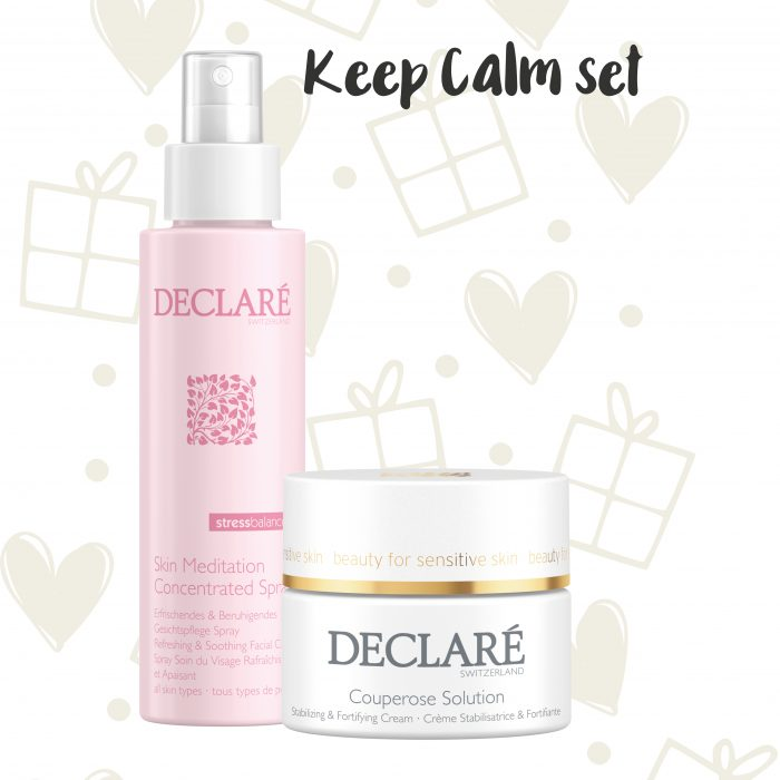 Declaré cadeauset Skin Meditation Concentrated Spray - Couperose Solution