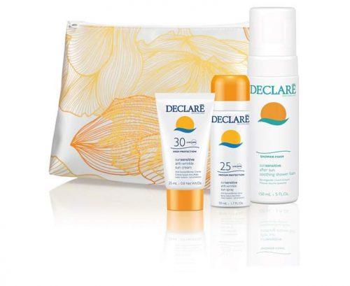 Sun Cosmetica voor de gevoelige huid in vrolijk tasje